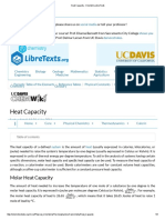Heat Capacity - Chemistry LibreTexts