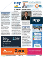 Pharmacy Daily for Wed 24 Aug 2016 - New Medicines Aust ceo, ABC confirms Swisse deal, $100m Blackmores net profit - up 115%, Health AMPERSAND Beauty and much more