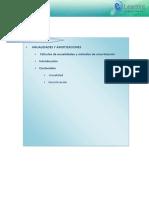 Cálculos de Anualidades y Métodos de Amortización