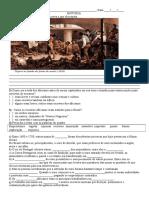 Atividades História Escravidão 5º Ano