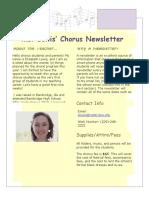 elizabeth lewis weebly newsletter