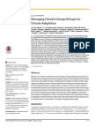 Managing Climate Change Refugia for Climate Adaptation