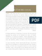 Tema a - En Las Entrañas Del Canal