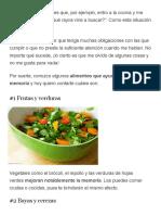 ¡Por Fin! 4 Tipos de Alimentos Que Te Ayudarán a Fortalecer Tu Memoria - IMujer