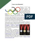 O Que é Uma Olimpíada