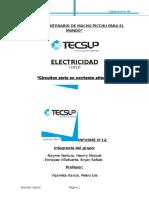 Informe de Electricidad 13