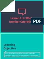 math 6 - lesson 1 1