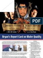 City of Bryan, Texas 2005 Consumer Confidence Report Calendar