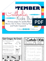 September 2016 Catholic Kids Bulletin