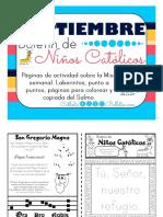 Septiembre 2016 Boletín Para Niños Católicos