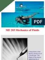 ME 203 Mechanics of Fluids