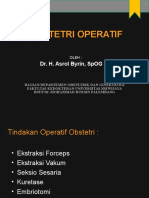 Obstetri Operatif - As