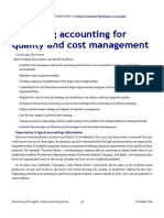20 - Using Accounting for Quality and Cost Management