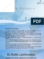 FA Dr reddy's