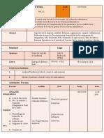 Plan de Informe Auditoria Interna