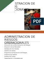 Administracion de Riesgos Operacionales,Unidad.2