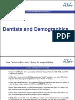 Dentists Demographics