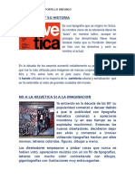 La Helvetica y Su Historia