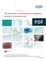 Identification of Enterobacteriaceae