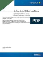10 Steps to Better Foundation Fieldbus Installations