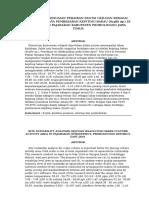 Analisis Kesesuaian Perairan Pantai Gejugan Sebagai Lahan Budidaya Pembesaran Kepiting Bakau (Scylla Sp.) Di Kecamatan Pajarakan Kabupaten Probolinggo