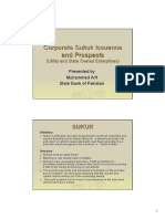 AlHuda CIBE - Corporate Sukuk Issuance by Muhammad Arif