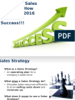 2. Csu-sales Strategy Success