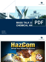 Mass Talk on Chemical Awareness