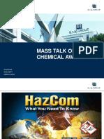 Mass Talk on Chemical Awareness