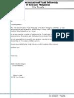 Solicitation Letter2