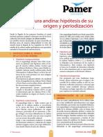 Cultura andina_hipotesis de su origen y periodización