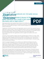 Regulatory Compliance - Seal contract Analysis