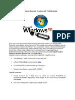 Langkah MembuatBootable Windows XP USB Flashdisk