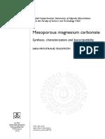 Magnisum Carbonate