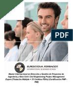 Master Internacional en Dirección y Gestión de Proyectos de Ingeniería y Obra Civil