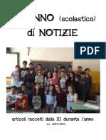 Raccolta Articoli 3°A 2015-2016