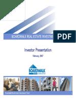 AlHuda CIBE - Boardwalk Real Estate Investment Trust