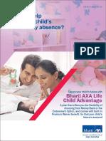 Child Advantage Brochure