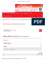 Exhibitors & Products 2016 -- Valve World Expo