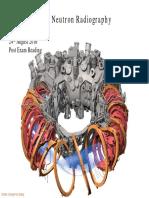 Understanding Neutron Radiography Post Exam Reading IX-A