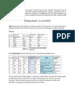 Forecasting Tracking Signal