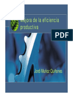 Mejora Eficiencia productiva