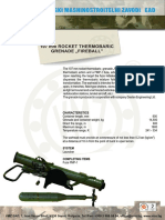 107mm Rocket ThermobaricFIREBALL
