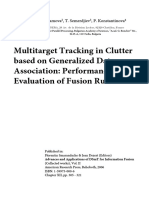 Multitarget Tracking in Clutter based on Generalized Data Association