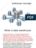 Oracle Data Warehouse Concepts