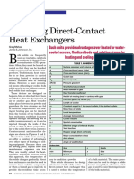 Solid - Operating Direct Contact HEXs