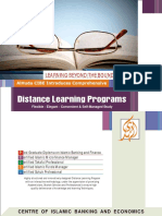 AlHuda CIBE - Distance Learning Profile - Local and International