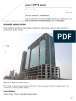 World Trade Tower Sector-16 WTT Noida