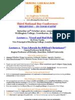 Affirming Liberalism 2010 Conference Flyer
