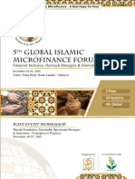 AlHuda CIBE - 5th Global Islamic Microfinance Forum Profile